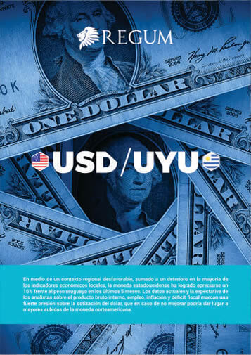 Reporte Dolar vs Peso Uruguayo Setiembre 2018