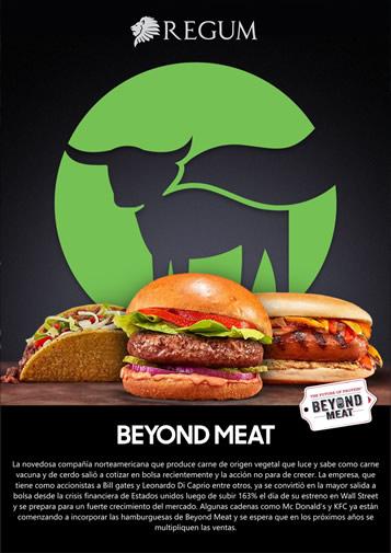 Informe Beyond Meat Junio 2019