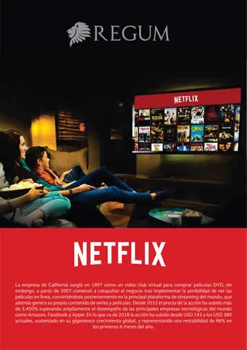 Reporte Netflix Junio 2018
