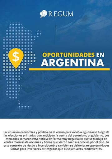 Oportunidades en Argentina