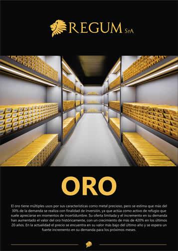 Reporte Oro Julio 2018