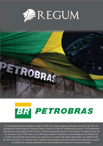 Reporte Petrobras Mayo 2018